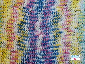 Space Yarn Dyeing Polyester Lantern Sample